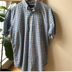 Polo by Ralph Lauren Blue plaid short sleeve